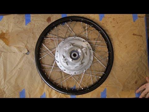 Motorcycle Restoration Part 4: Wheels