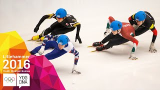 Short Track Speed Skating - 1000m - Full Replay | Lillehammer 2016 Youth Olympic Games