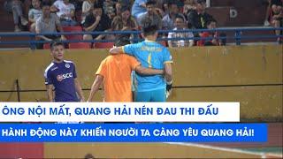 Hành động đẹp của Quang Hải khi thủ môn Thanh Hóa Lương Bá Sơn phải rời sân | NEXT SPORTS