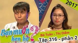 Chàng trai tự tin khoe giọng với bài hát 'tự chế' tỏ tình bạn gái | Bá Tuấn - Thị Diễm | BMHH 316 🎤