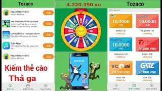 Tozaco kiếm thẻ cào điện thoại kiếm tiền online thả ga