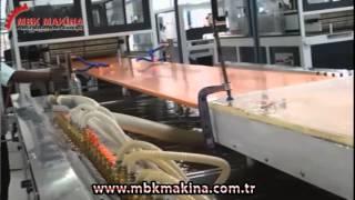 800 MM PVC KAPI ÜRETİM HATTI