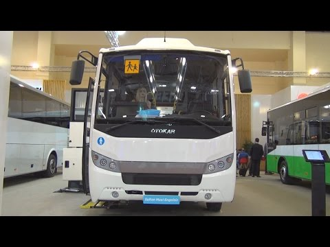 Otokar Sultan Maxi Engelsiz Bus (2016) Exterior and Interior in 3D
