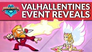 Valhallentines Event Date & Reveals! - Brawlhalla Dev Stream Montage