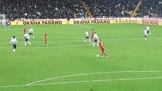 Udinese-Roma 0-4 Gol Zaniolo