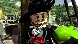 Jeu vidéo lego pirates des caraibes :  bande-annonce VO