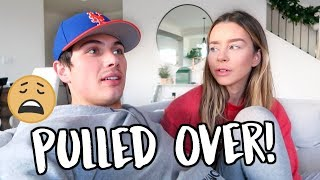 WE WERE PULLED OVER FOR WHAT!? VLOGMAS DAY 7!