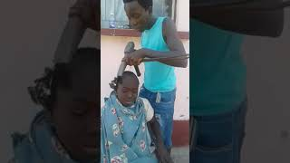 old school hair cut  THE BEST OF THE BEST hair 😂😂😂😂😂😂😂😃😂😂😂