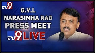 G. V. L. Narasimha Rao Press Meet LIVE- Vijayawada..