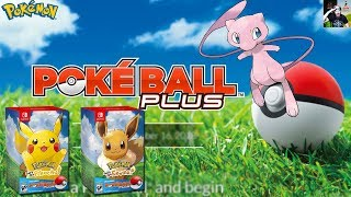Pokémon Let's Go BUNDLES Announced + Legendary MEW Included with Poke Ball Plus!