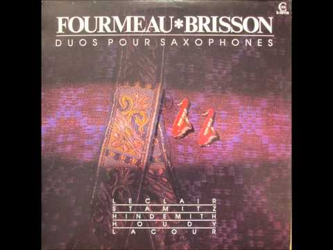 Suite en duo - III - Petite fugue (Guy Lacour)
