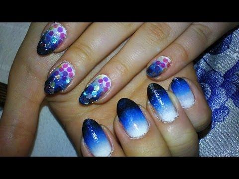 Jak pomalować paznokcie - rybie łuski