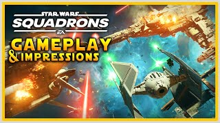 SQUADRONS GAMEPLAY & IMPRESSIONS: Hands-On, Fleet Battles, Unlocks & More - Star Wars Squadrons