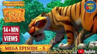The Jungle Book Cartoon Show Mega Episode 5 | Latest Cartoon Series for Children