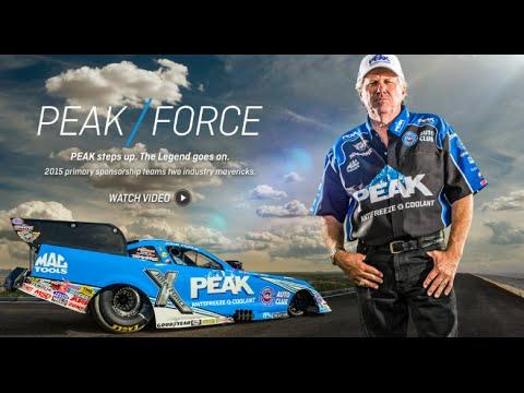 Peak backs John Force