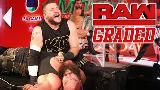WWE Raw: GRADED (11 June) | WWE Money In The Bank Go-Home Show