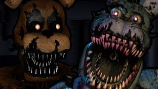 NIGHTMARE FREDDY PLAYS: Watch Your Nightmares || A FNAF 4 FAN GAME WITH CAMERAS!!!