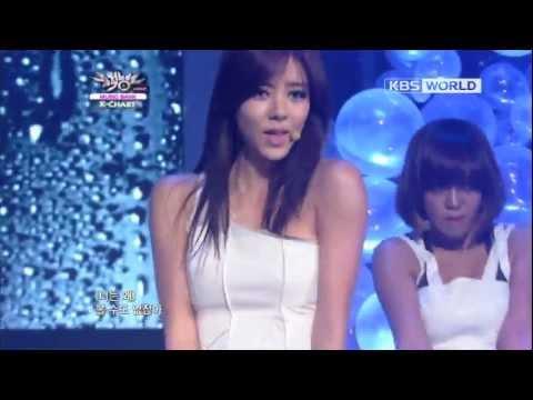 [Music Bank K-Chart] Son Dambi - Tears Pouring Down (2012.11.16)
