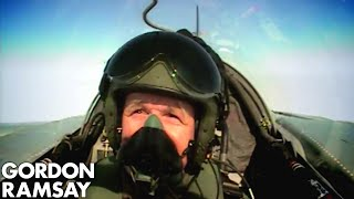 Cooking for RAF Pilots - Gordon Ramsay