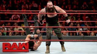Braun Strowman vs. Elias: Raw, Feb. 26, 2018