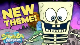 NEW Halloween Theme Song! 🎃 SpongeBob