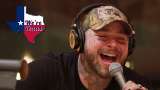 POST MALONE GOES COUNTRY   WE'RE TEXAS