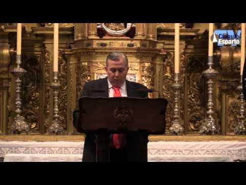Pregón del Cofrade 2016 a cargo de Esteban Romera