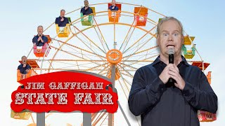 """Fairs are SO DANGEROUS..."" - Jim Gaffigan Stand up (Cinco)"