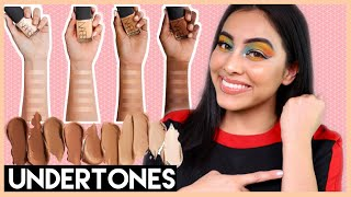 HOW TO FIND YOUR UNDERTONE!   TIPS & TRICKS