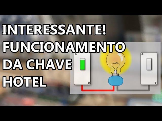 CHAVE HOTEL: ENTENDA COMO FUNCIONA