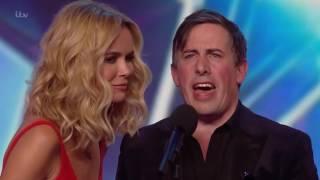 Magician Christian Lee Leaves Amanda Holden Braless (MUST WATCH) | Britians Got Talent 2016