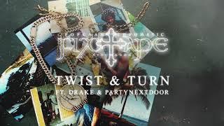 Popcaan  - TWIST & TURN (feat. Drake & PARTYNEXTDOOR) (Official Audio)