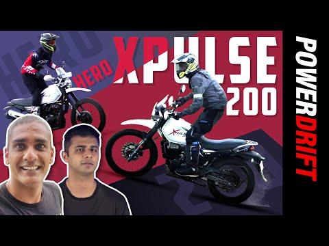 GIVEAWAY Alert | Hero Xpulse 200 BS6 | Learning to like off-roading | PowerDrift