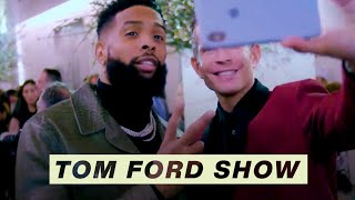 Behind the Scenes with Odell Beckham Jr. at the Tom Ford Fashion Show