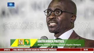 Update Analysis On Cameroon Violence As S.Africa's Gigaba Resigns Pt.2 |Network Africa|