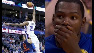 Most humiliating plays of the 2017/2018 NBA Season! (LeBron, Embiid, Harden, ...)