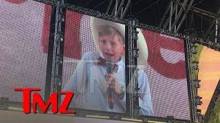 Yodeling Kid Mason Ramsey Performs at Coachella | TMZ