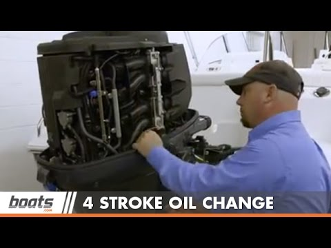 How to change outboard motor gearbox oil yamaha for Yamaha outboard break in procedure