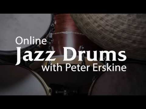 Learn Jazz Drums Online with Peter Erskine