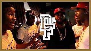 HITMAN HOLLA & AYE VERB VS DNA & K-SHINE   Don't Flop Rap Battle