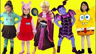 Kids Costume Runway Show | Makeup Halloween Costumes and Toys