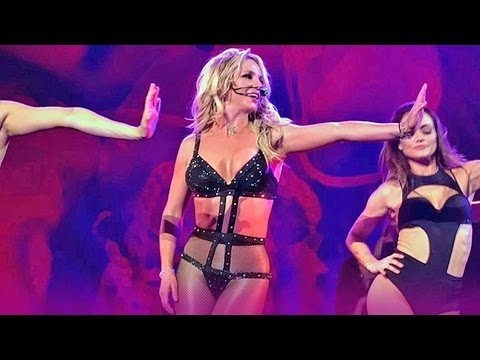 Britney: Piece Of Me - BEST and WORST Moment of the Same Choreography