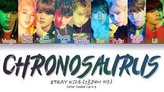 Stray Kids - Chronosaurus (Color Coded Lyrics Eng/Rom/Han/가사)