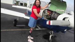 Tammy Duckworth flies again