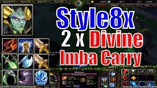 DotA 6.83d Medusa Imba Carry Divine x2-DotA Style8x