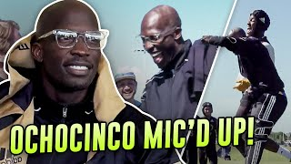 """""""CHILD PLEASE!"""" Ochocinco Mic'd Up At Son's Game! Chad Johnson Is Gonna Be A Pro Soccer Player!?"""