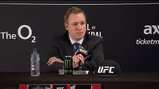 UFC London: Post-fight Press Conference