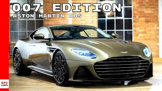 2019 Aston Martin DBS Superleggera James Bond 007 Edition