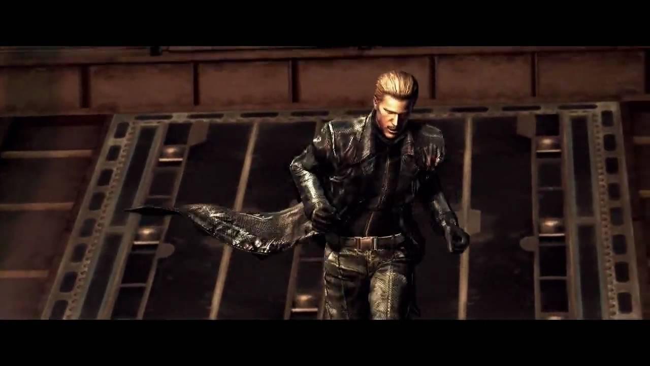 Resident Evil 5 Wesker Cutscene Fixodent