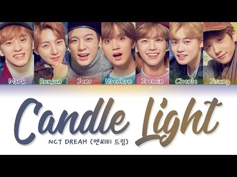 NCT DREAM (엔시티드림) - Candle Light (사랑한단 뜻이야) (Color Coded Lyrics Eng/Rom/Han/가사)